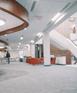 The renovations in @VSUOdumLibrary a